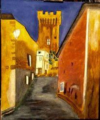 Acrylmalerei, Bretagne, Frankreich, Malerei