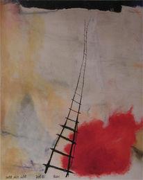 Malerei, Abstrakt, Sucht,