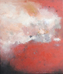Rot, Glut, Feuer, Malerei