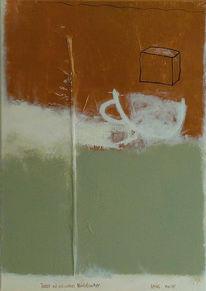 Malerei, Abstrakt, Tasse,
