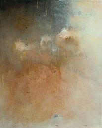 Malerei, Abstrakt, Stille, Mischtechnik