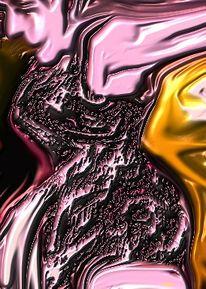 Tanz, Frau, Digitale kunst