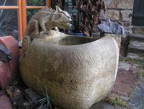 Skulptur, Tiere, Kopf, Brunnen