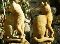 Skulptur, Tiere, Stein, Plastik