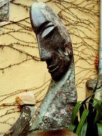 Skulptur, Plastik, Kopf, Figural