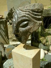 Frau, Kopf, Skulptur, Figural