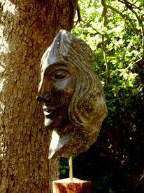 Skulptur, Frau, Kopf, Figural