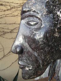 Skulptur, Kopf, Plastik, Figural