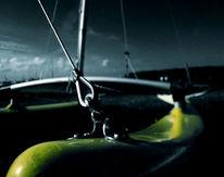 Seil, Gelb, Boot, Katamaran