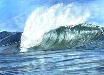 Welle, Wasser, Grafik