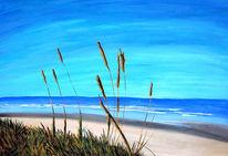 Meer, Wasser, Himmel, Strand