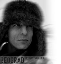 Schnee, Belgrad, Schwarz weiß, Winter