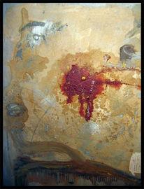 Gold, Terror, Ölmalerei, Krieg