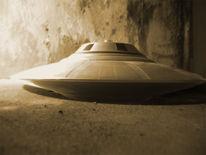 Höhle, Ufo, Hangar, Sonnenscheibe