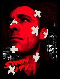 Tarantino, Sünde, Weiß, Plakatkunst