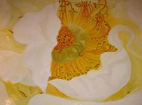 Rose, Ölmalerei, Figural, Blumen