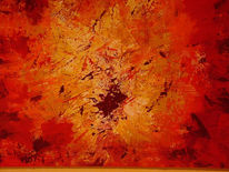 Abstrakt, Malerei, Frühling