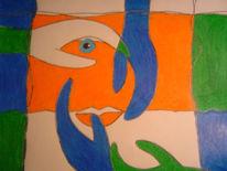 Abstrakt, Gesicht, Zeichnungen