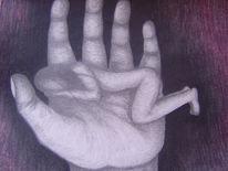 Zeichnung, Liebe, Geborgenheit, Vertrauen