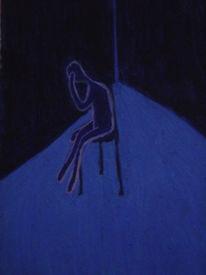 Verzweiflung, Zeichung, Depression, Trauer