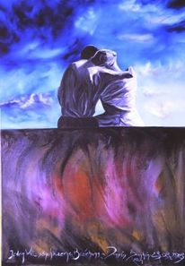 Malerei, Surreal, Beziehung
