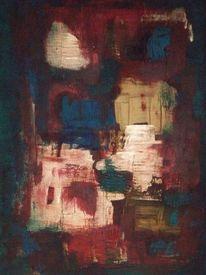 Malerei, Abstrakt, Schatz, Urwald