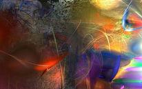 Abstrakt, Digital, Digitale kunst,