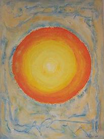 Abstrakt, Malerei, Antike, Sonne