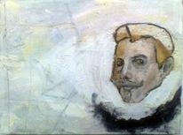 Studienkopf, Malerei, Skizze, Ölmalerei