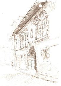 Verona, Italien, Skizze, Zeichnungen