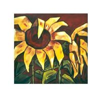 Stillleben, Acrylmalerei, Blumen, Sonne