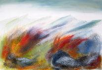 Jahreszeiten, Berge feuer herbst, Natur, Tirol