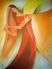 Figur, Acrylmalerei, Harmonie, Frau