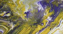 Fantasie, Violett, Farben, Abstrakt