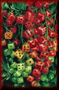 Grün, Obst, Pflanzen, Rot