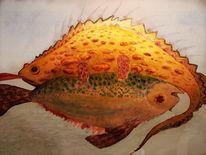 Zeichnung, Illustration, Aquarellmalerei, Zeichnungen