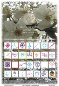 Grafik, Universaler, Friedenskalender, März
