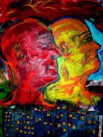 Politik, Revolution, Malerei, Gemälde