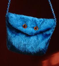 Monster, Plüsch, Tasche, Kunsthandwerk