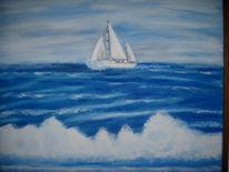 Ölmalerei, Malerei, Meer