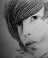 Bleistiftzeichnung, Liebe, Zeichnungen, Portrait