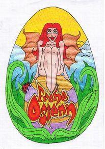 Frohe ostern, Zeichnungen, Surreal, Ostern