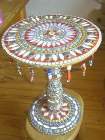 Kunsthandwerk, Tisch, Glas
