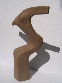 Figural, Plastik, Ton, Skulptur