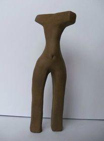 Ton, Abstrakt, Skulptur, Frau
