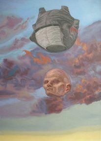 Ballon, Himmel, Natur, Menschen