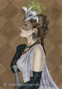 Dante, Maske, Venedig, Venezia