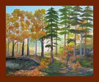 Ölmalerei, Malerei, Herbst