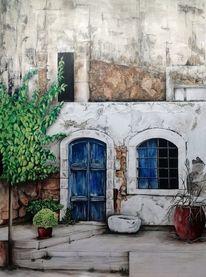 Krug, Griechenland, Ocker, Mauer