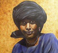 Afrika, Wüste, Turban, Tuareg